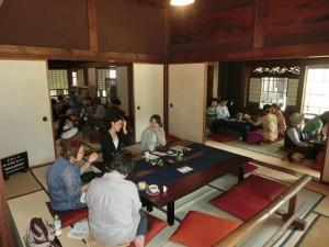陣屋荘Cafeの様子CIMG1571