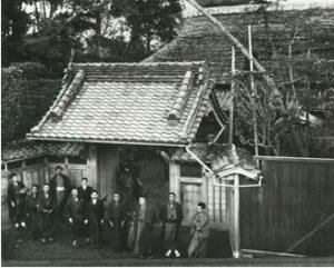 明治初期の陣屋門