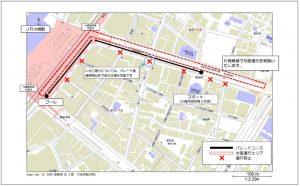 パレード地図