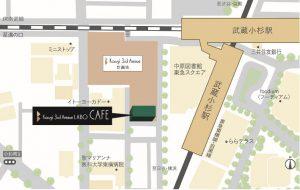 K3A LABO CAFE 地図