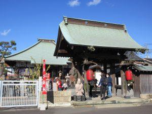 ★宝蔵寺入口