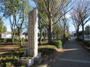 多聞寺→西明寺途中の等々力地区