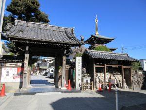 ★大楽寺入口