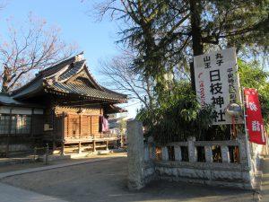 大楽院近くの日枝神社