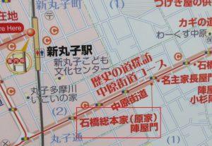 000-4地図(原家陣屋門)