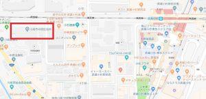 中原区役所地図