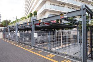 一般的な機械式駐車場
