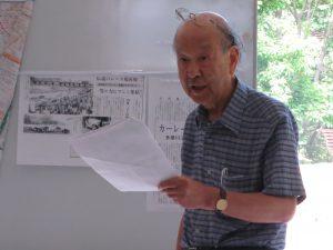 講師を務めた羽田先生